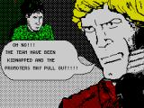 Roy of the Rovers ZX Spectrum Oh No!