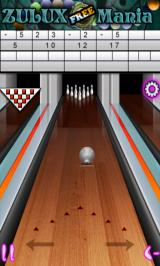 Bowling Complete Android Ball in motion