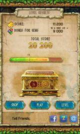 The Treasures of Montezuma 3 Android Level results