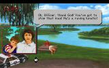 Police Quest 3: The Kindred DOS Trouble at the recreation area...