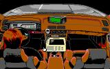 Police Quest 3: The Kindred DOS The view in your car (EGA/Tandy)