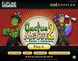 Cactus McCoy 2: The Ruins of Calavera Browser Main menu