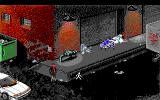 Police Quest 3: The Kindred DOS Now what could happen in this dark alley? (EGA/Tandy)