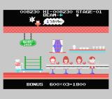 Comic Bakery MSX Stage clear and Give these kids something to eat! - 1ea of bakery is insufficient (Japanese version)