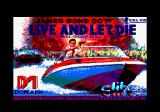 Ian Fleming's James Bond 007 in Live and Let Die: The Computer Game Amstrad CPC Loading screen.