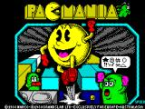 Pac-Mania ZX Spectrum Loading screen.