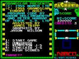 Pac-Mania ZX Spectrum Title screen.