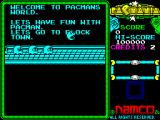 Pac-Mania ZX Spectrum Level 1.
