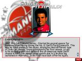Newman Haas Racing Windows Driver Select gives you the chance to read some brief bios on the 16 drivers featured in the game.