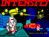 Intensity ZX Spectrum Loading screen.