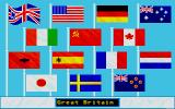 Summer Challenge Atari ST Choose your country.