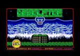 Kyros Amstrad CPC Loading screen.