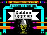The Quest for the Golden Eggcup ZX Spectrum Loading screen.