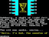 The Quest for the Golden Eggcup ZX Spectrum The story.