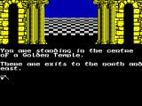 The Quest for the Golden Eggcup ZX Spectrum North or East?