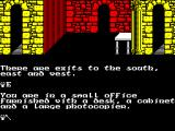 The Quest for the Golden Eggcup ZX Spectrum What now?