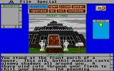 Uninvited Atari ST The house.
