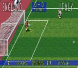 90 Minutes: European Prime Goal SNES Defending the goal