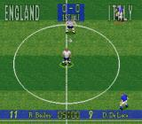 90 Minutes: European Prime Goal SNES Start of the match