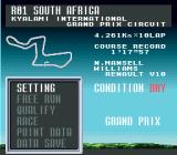 F1 Pole Position 2 SNES Track info