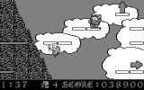 Armorik the Viking: The Eight Conquests DOS Top o' the world! (CGA monochrome)