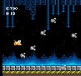 Air Fortress NES A whole bunch of flying eyes