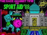 The Race Against Time ZX Spectrum Loading screen.
