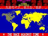 The Race Against Time ZX Spectrum Map of the World.