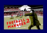 Football Manager 2 Amstrad CPC Loading screen.