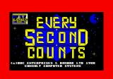 Every Second Counts Amstrad CPC Loading screen.