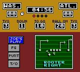 Joe Montana Football Game Gear In beginner, Joe gives recommendations for the tactics.