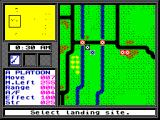 Pegasus Bridge ZX Spectrum Landing sites.