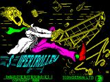Super Trolley ZX Spectrum Loading screen.