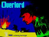 Overlord: The Invasion 6th June 1944 ZX Spectrum Loading screen.