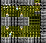 Air Fortress NES A whole horde of enemy robots