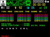 Sophistry ZX Spectrum Title screen.