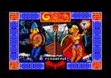 Gothik Amstrad CPC Loading screen.