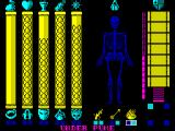 Gothik ZX Spectrum Your status and potions.
