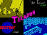 Teladon ZX Spectrum Loading screen.