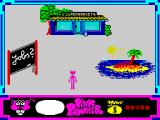 Pink Panther ZX Spectrum Options.