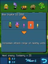Crystal Defenders Windows Mobile These crystals function as power-ups for the units on the battlefield.
