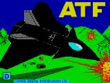 ATF: Advanced Tactical Fighter ZX Spectrum Loading screen.