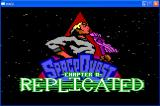 Space Quest 0: Replicated Windows The title screen