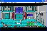 Space Quest 0: Replicated Windows The opening screen. That guy is really...dead...