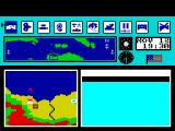 Guadalcanal ZX Spectrum Playing area.