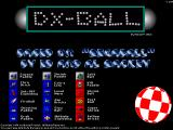 DX-Ball Windows Title Screen