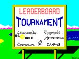 Leaderboard Tournament ZX Spectrum Loading screen.