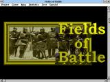 Fields of Battle Windows 3.x Title screen