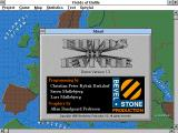 Fields of Battle Windows 3.x Credits screen (demo v1.3)
