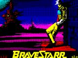 BraveStarr ZX Spectrum Loading screen.